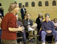 chicago teachers union welcomes anarchist lisa fithian in school closing battle
